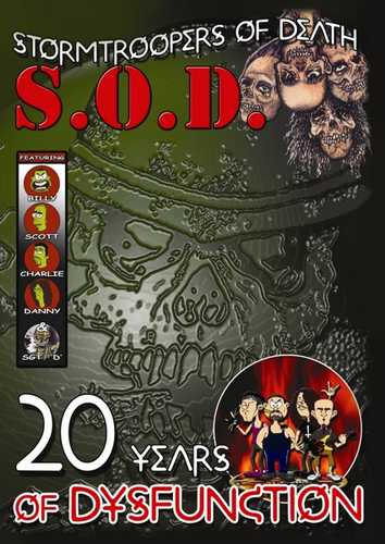 CD Shop - S.O.D. 20 YEARS OF DYSFUNCTION