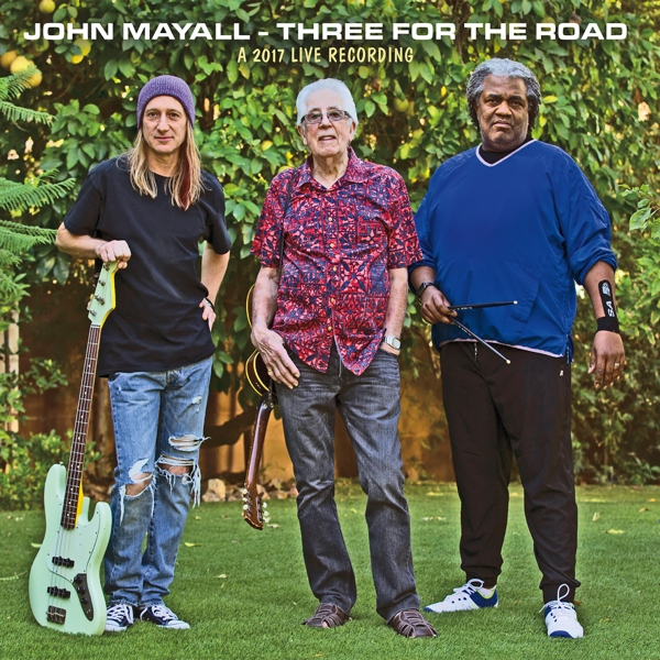 CD Shop - MAYALL, JOHN THREE FOR THE ROAD
