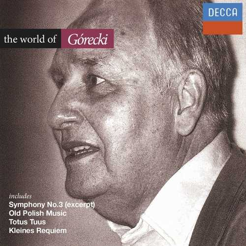 CD Shop - GORECKI, H. WORLD OF