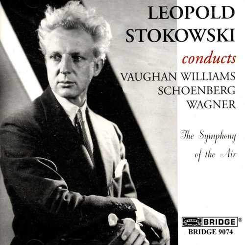 CD Shop - WILLIAMS/SCHOENBERG/WAGNE SYMPHONY OF THE AIR