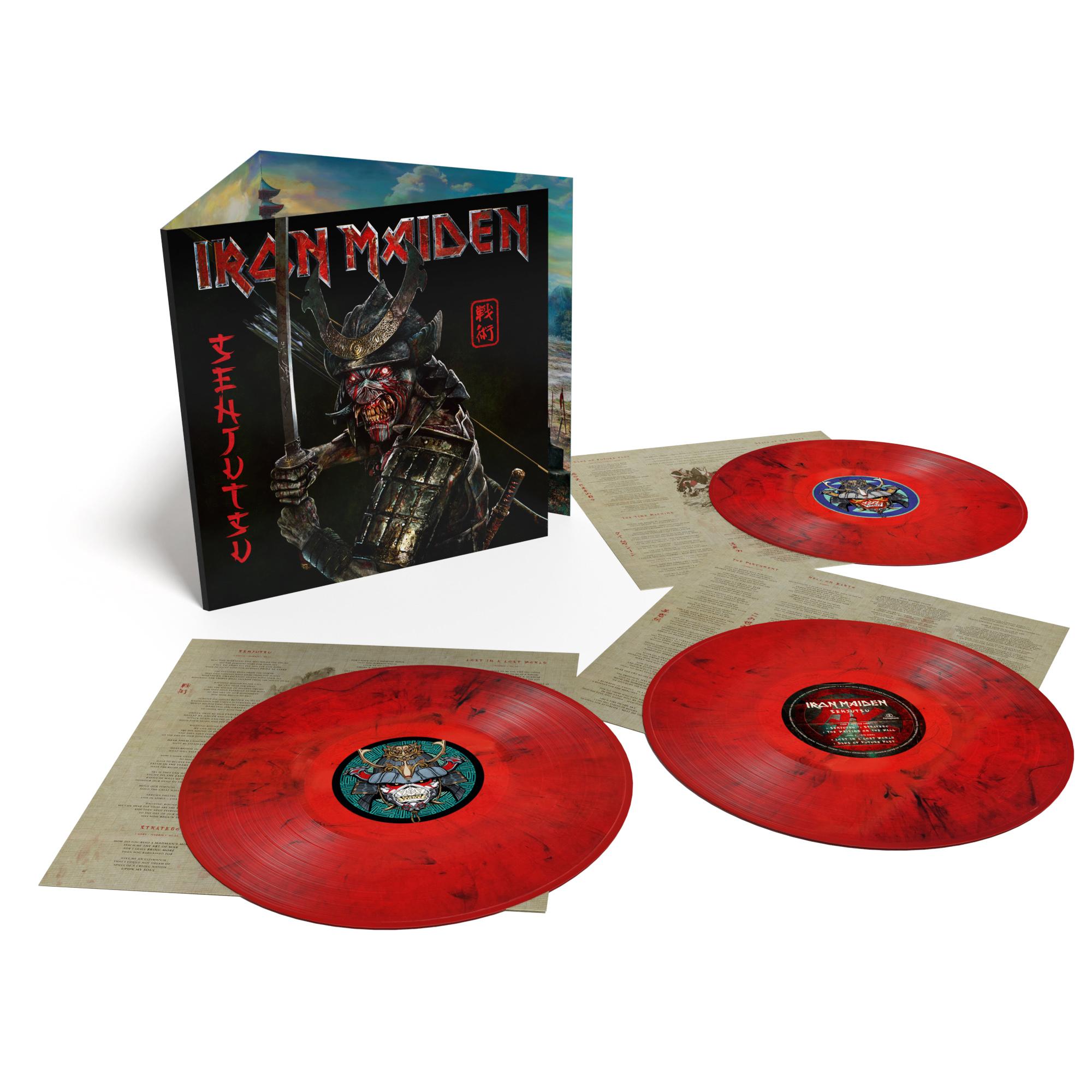 CD Shop - IRON MAIDEN SENJUTSU (INDIES) (RED & BLACK VINYL)