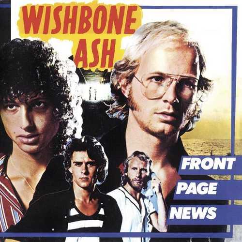 CD Shop - WISHBONE ASH FRONT PAGE NEWS