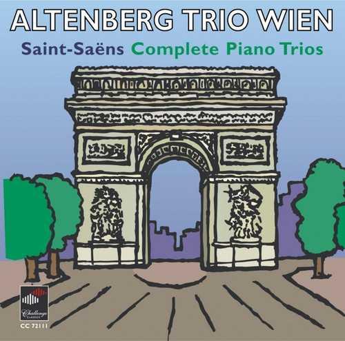 CD Shop - SAINT-SAENS, C. Complete Piano Trios