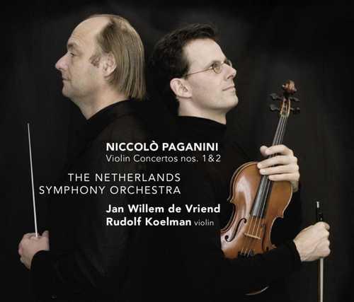 CD Shop - PAGANINI, N. VIOLIN CONCERTOS NOS.1&2