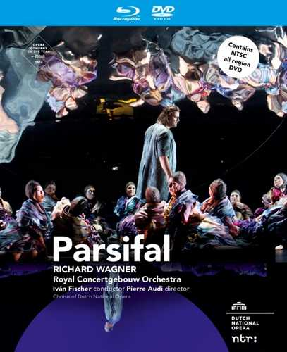 CD Shop - WAGNER, R. PARSIFAL -BR+DVD-