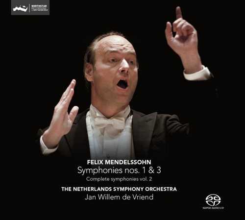 CD Shop - MENDELSSOHN-BARTHOLDY, F. Symphonies 1 & 3