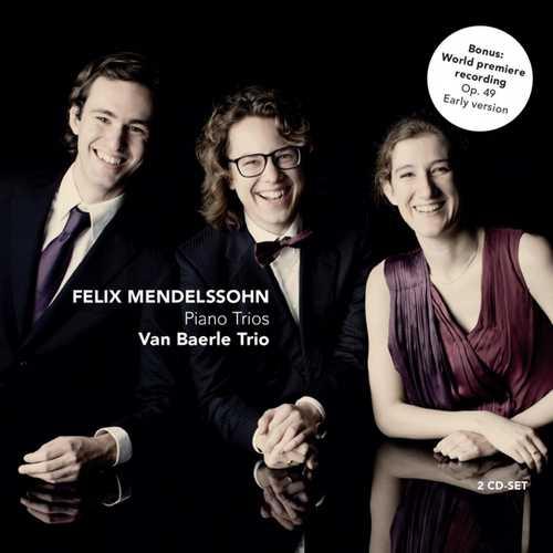 CD Shop - MENDELSSOHN-BARTHOLDY, F. Klavier Trios