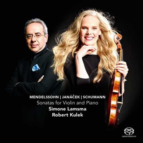 CD Shop - LAMSMA, SIMONE Sonatas For Violin & Piano