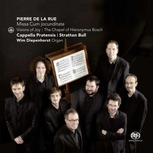 CD Shop - RUE, P. DE LA VISIONS OF JOY AT THE CHAPEL OF HIERONYUS BOSCH
