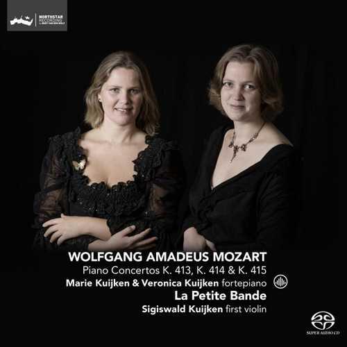 CD Shop - MOZART, W.A. PIANO CONCERTOS KV413-415