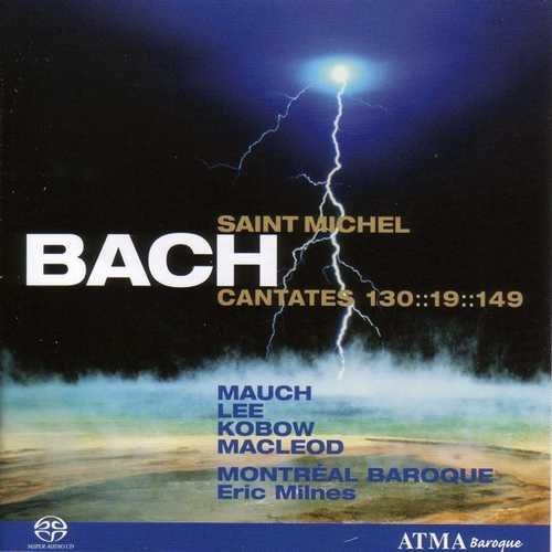 CD Shop - BACH, J.S. Cantatas Pour La Saint-Michel 2
