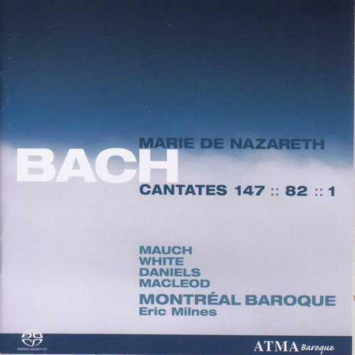 CD Shop - BACH, J.S. Cantatas Mary of Nazareth