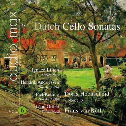 CD Shop - ANDRIESSEN, H. DUTCH CELLO SONATAS VOL.6