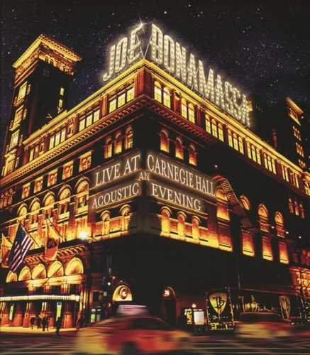 CD Shop - BONAMASSA, JOE LIVE AT CARNEGIE HALL:AN ACOUSTIC EVENING