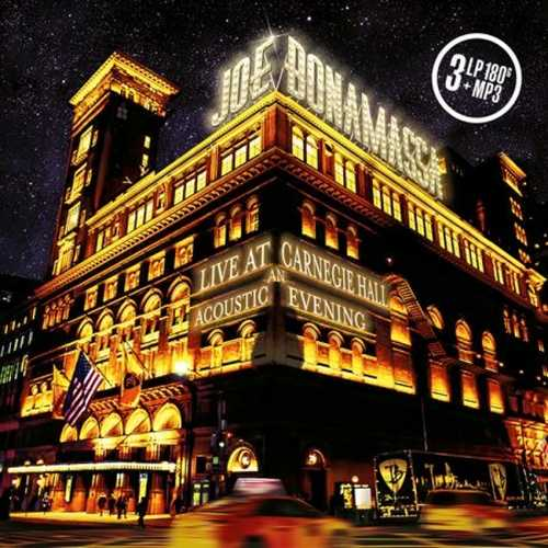 CD Shop - BONAMASSA, JOE LIVE AT CARNEGIE HALL:AN ACOUSTIC EVENING