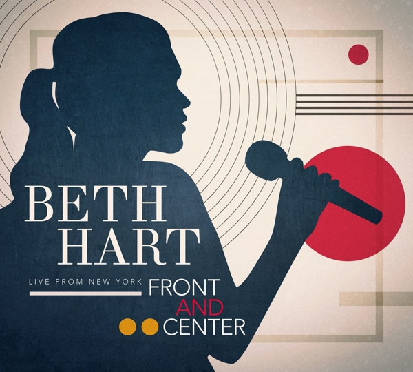 CD Shop - HART, BETH FRONT AND CENTER -CD+DVD-