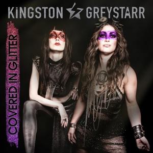 CD Shop - KINGSTON & GREYSTARR COVERED IN GLITTER