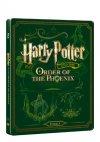 CD Shop - HARRY POTTER A FéNIXůV řáD (BD+DVD BONUS) - STEELBOOK