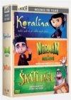 CD Shop - 3 DVD KORALíNA-NORMAN A DUCHOVé-ŠKATULáCI