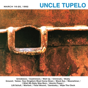 CD Shop - UNCLE TUPELO MARCH 16-20, 1992