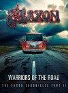 CD Shop - SAXON WARRIORS OF THE ROAD - THE SAXON CHRONICLES (BLU-RAY+CD)