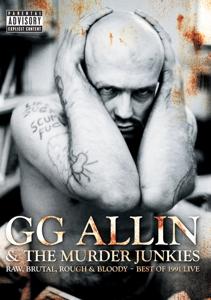 CD Shop - ALLIN, G.G. RAW, BRUTAL, ROUGH & BLOODY: BEST OF 1991 LIVE