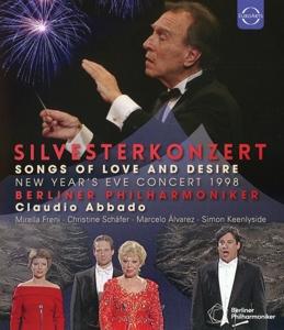 CD Shop - ABBADO, CLAUDIO / BERLINE SILVESTERKONZERT: NEW YEAR