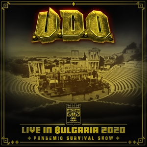 CD Shop - U.D.O. LIVE IN BULGARIA 2020 DVD+2CD