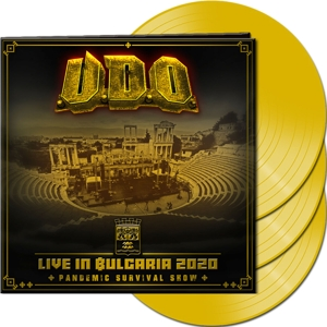 CD Shop - U.D.O. LIVE IN BULGARIA 2020 YELLOW LT