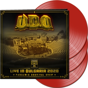 CD Shop - U.D.O. LIVE IN BULGARIA 2020 RED LTD.