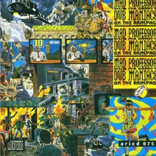 CD Shop - MAD PROFESSOR DUB MANIACS ON THE RAMPAG