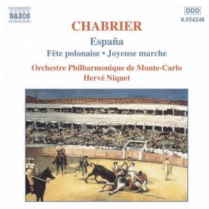 CD Shop - CHABRIER, E. ORCHESTRAL WORKS:ESPANA..