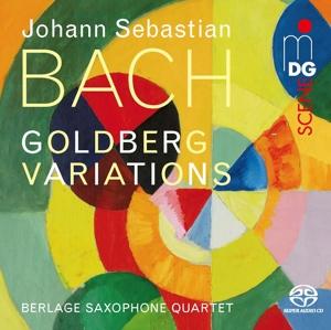CD Shop - BERLAGE SAXOPHONE QUARTET BACH GOLDBERG VARIATIONS BWV 988 (ARR. PETER VIGH)