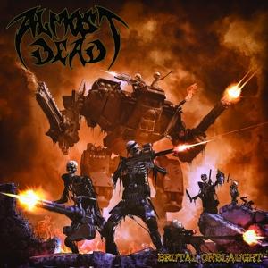CD Shop - ALMOST DEAD BRUTAL ONSLAUGHT