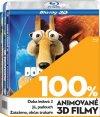CD Shop - 3 BD 100% 3D ANIMOVANé FILMY