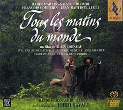 CD Shop - SAVALL, JORDI Tous Les Matins Du Monde
