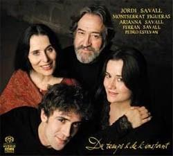 CD Shop - SAVALL, JORDI Du Temps Et De L