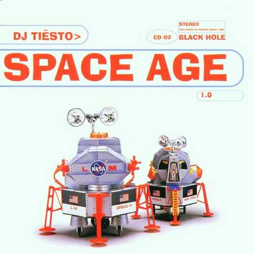 CD Shop - DJ TIESTO SPACE AGE 1.0
