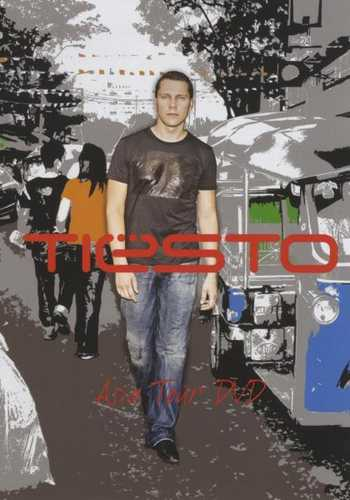 CD Shop - TIESTO ASIA TOUR DVD