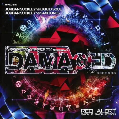 CD Shop - V/A DAMAGED RED ALERT BACK..
