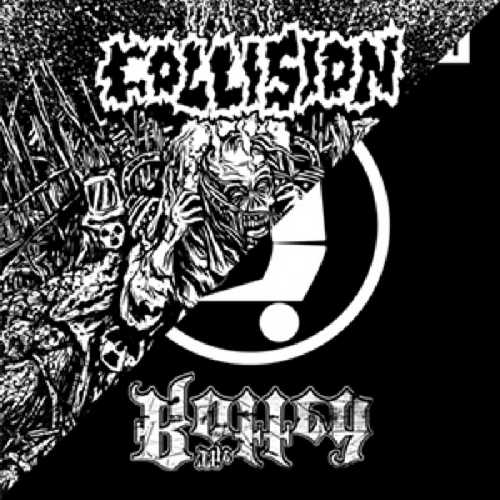 CD Shop - COLLISION/THE ROTTED SPLIT