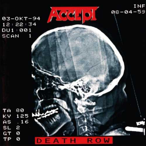 CD Shop - ACCEPT DEATH ROW
