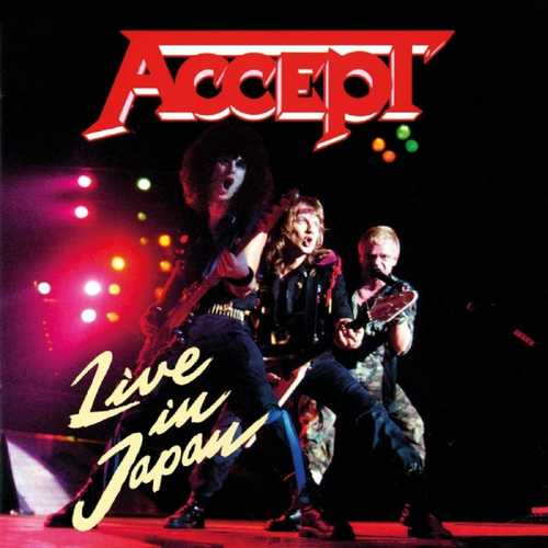 CD Shop - ACCEPT LIVE IN JAPAN
