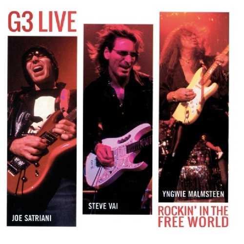 CD Shop - G3 G3 LIVE: ROCKIN