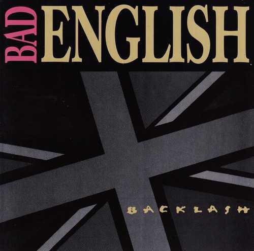 CD Shop - BAD ENGLISH BACKLASH