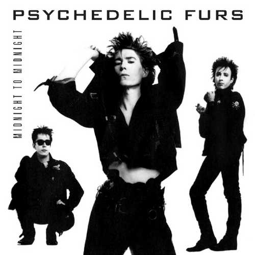 CD Shop - PSYCHEDELIC FURS MIDNIGHT TO MIDNIGHT