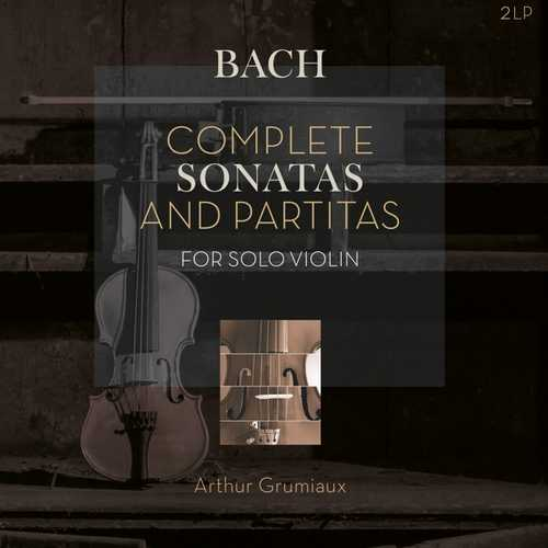 CD Shop - BACH, J.S. COMPLETE SONATAS &..-HQ-