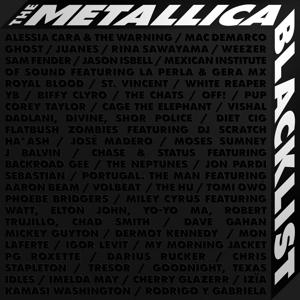 CD Shop - RUZNI/POP INTL THE METALLICA BLACKLIST