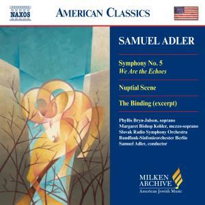 CD Shop - ADLER, S. SYMPHONY NO.5