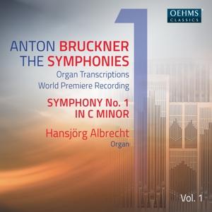 CD Shop - ALBRECHT, HANSJORG BRUCKNER: THE SYMPHONIES, VOL. 1 (ARR. FOR ORGAN)